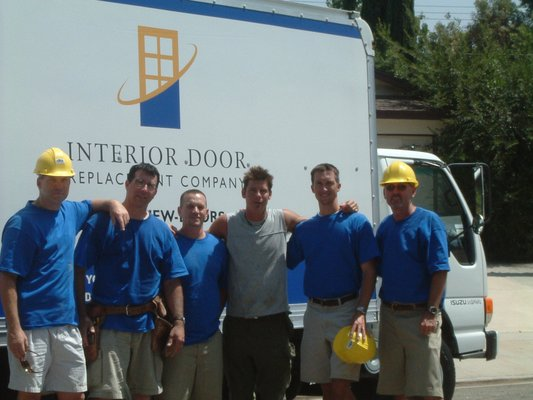 IDRC team with extreme makeover
