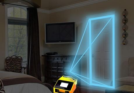 digital and laser door measurement