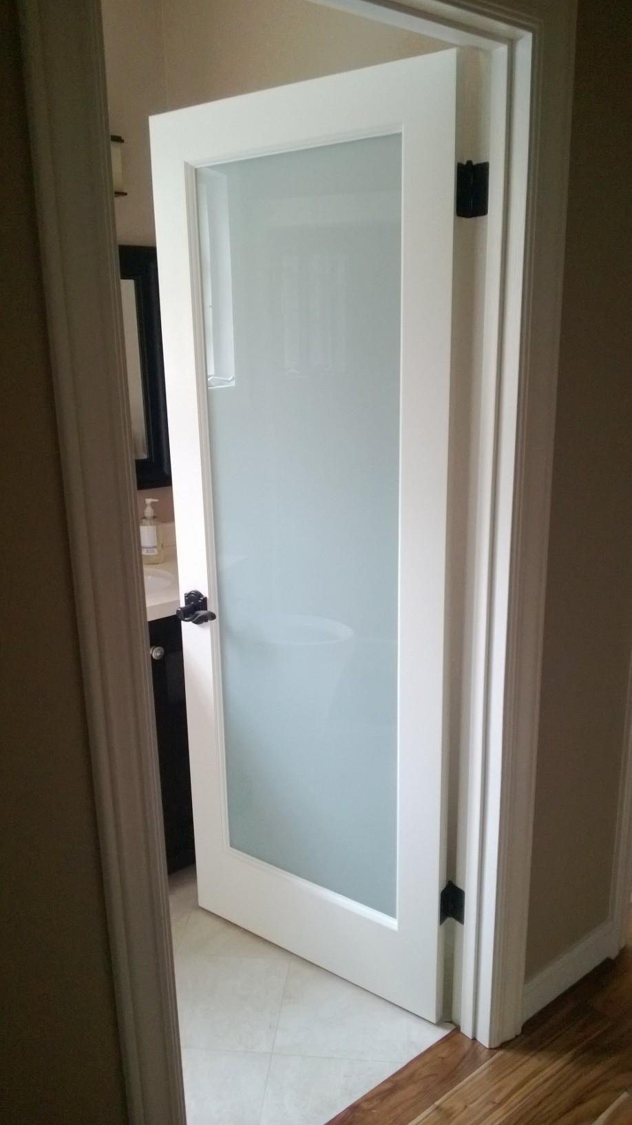 New White Laminate Doors In Woodside