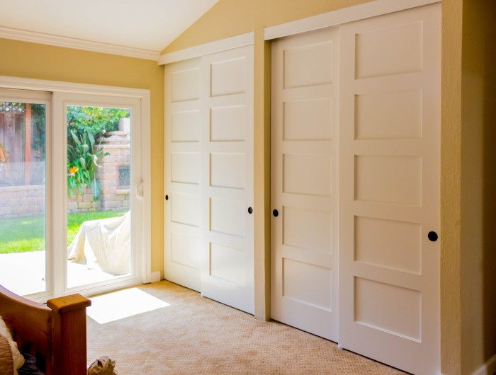 TruStile Closet Doors & 5-Panel doors in Sunnyvale by TM Cobb and TruStile