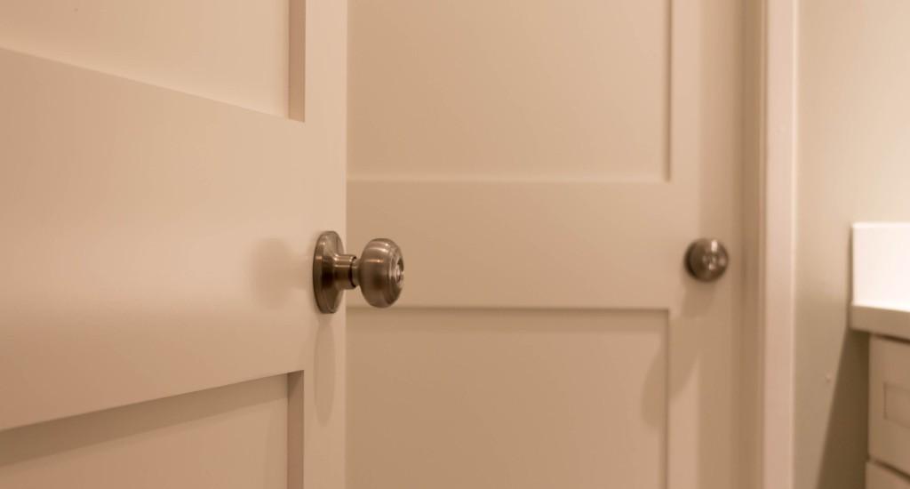 2-panel shaker interior door