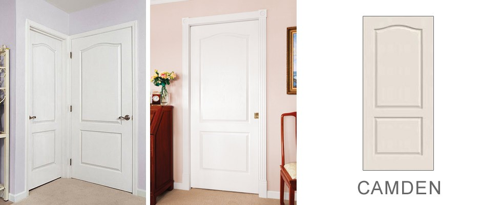Camden molded interior door