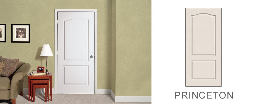 Princeton molded interior door