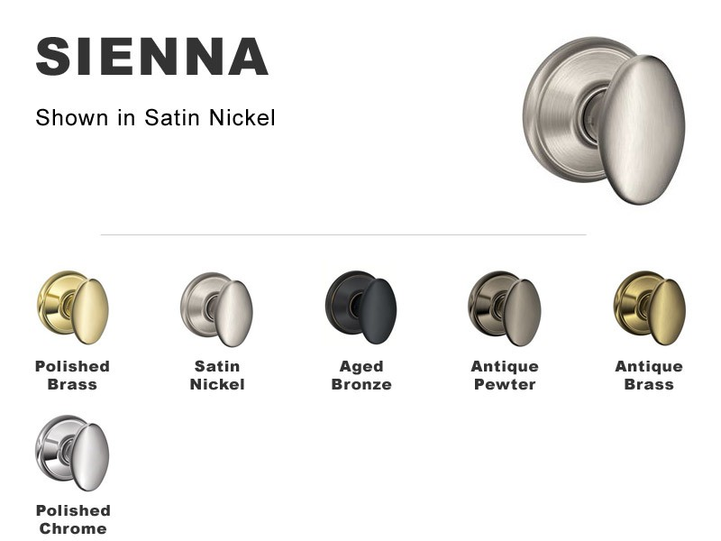 Schlage F-Series Locksets